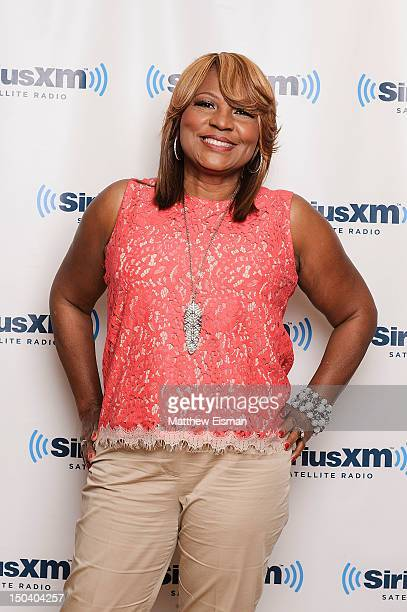 Evelyn Braxton of WE tv's 'Braxton Family Values' visits SiriusXM Studios on August 16, 2012 in New York City.