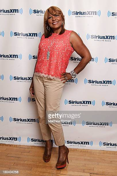 Evelyn Braxton of WE tv's 'Braxton Family Values' visits SiriusXM Studios on August 16 2012 in New York City