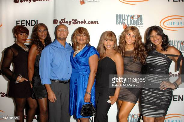 Evelyn Braxton, Toni Braxton and Family attend Lupus LA 8th Annual Bag Ladies Luncheon at Beverly Wilshire Four Seasons Hotel on November 16, 2010 in...
