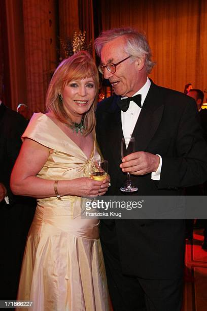 Evelyn Bresser And Andreas Graf Von Hardenberg at the 7th Russian German economy politics and culture ball at The Russian Embassy at Russian Palais...