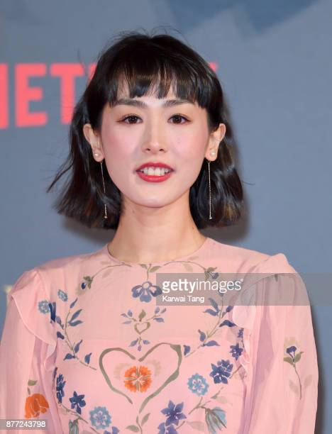 Evelyn Choi WingYan attends the World Premiere of Netflix's 'The Crown' Season 2 at Odeon Leicester Square on November 21 2017 in London England