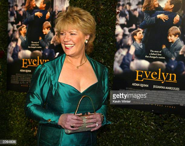 Evelyn Doyle at the premiere of Evelyn at the Academy of Motion Pictures Arts and Sciences in Beverly Hills Ca Tuesday Dec 3 2002 Photo by Kevin...