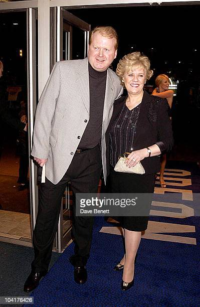 Evelyn Doyle With Her Husband Evelyn Movie Premiere Odeon Westend Was Followed By A Party At Simpson In The Strand London