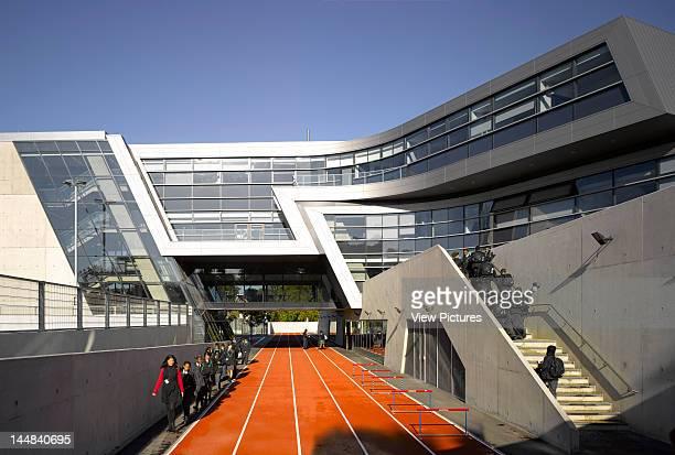 Evelyn Grace Academy Shakespeare Road London Se24 United Kingdom Architect Zaha Hadid Architects Evelyn Grace Academy Brixton Zaha Hadid...