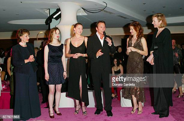 Evelyn H Lauder Thora Birch Estella Warren Colin Cowie Debra Messing and Allison Janney