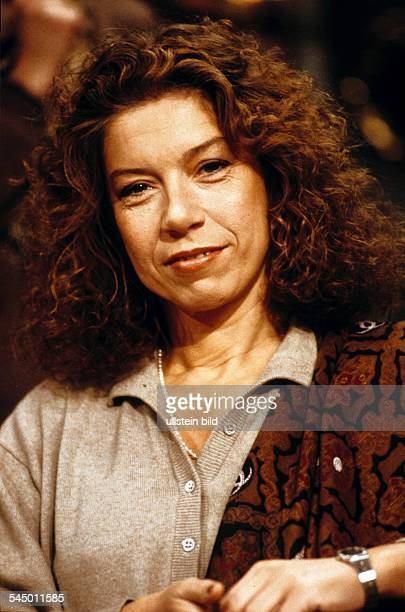 Evelyn Hamann Actress Germany 1989