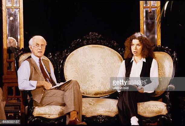 Evelyn Hamann Actress Germany with Loriot 101982
