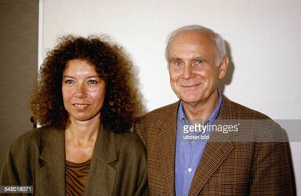Evelyn Hamann Actress Germany with Loriot 1988