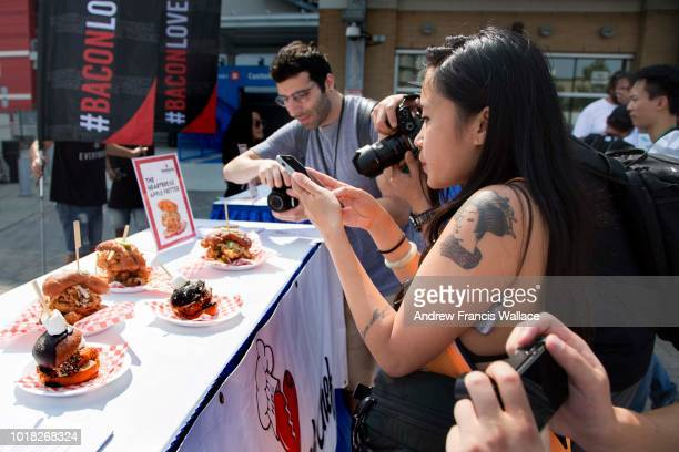 Evelyn Kwong on how to make outstanding food posts on social media during a preview of the 2018 Canadian National Exhibition