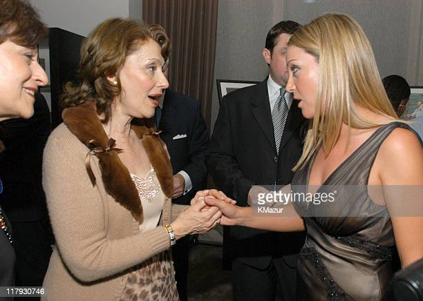Evelyn Lauder and Cristie Kerr during New York Sports Night at the Esquire Apartment at The Esquire Apartment in New York City New York United States