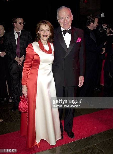 Evelyn Lauder and Leonard Lauder during 2003 Whitney Museum of American Art Gala Celebrating Ellsworth Kelly's 80th Birthday at Whitney Museum of...