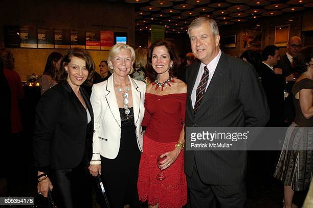 Evelyn Lauder Joan Hardy Clark and attend Whitney Biennial 2006 Day For Night at Whitney Museum of American Art on May 4 2006 in New York City