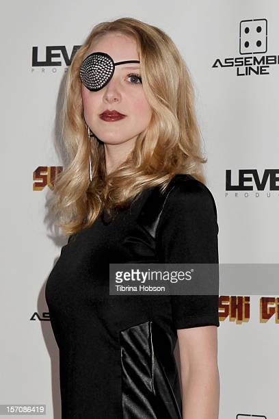 Evelyn Lee attends the 'Sushi Girl' Los Angeles premiere at Grauman's Chinese Theatre on November 27 2012 in Hollywood California