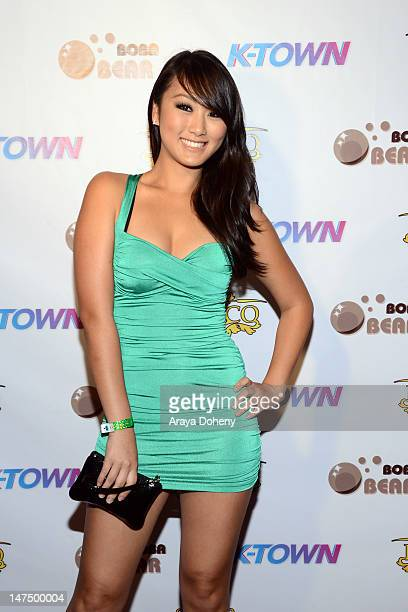 Evelyn Lin arrives at the New Reality Show KTown Red Carpet Premiere And Launch Party at Belasco Theatre on June 30 2012 in Los Angeles California