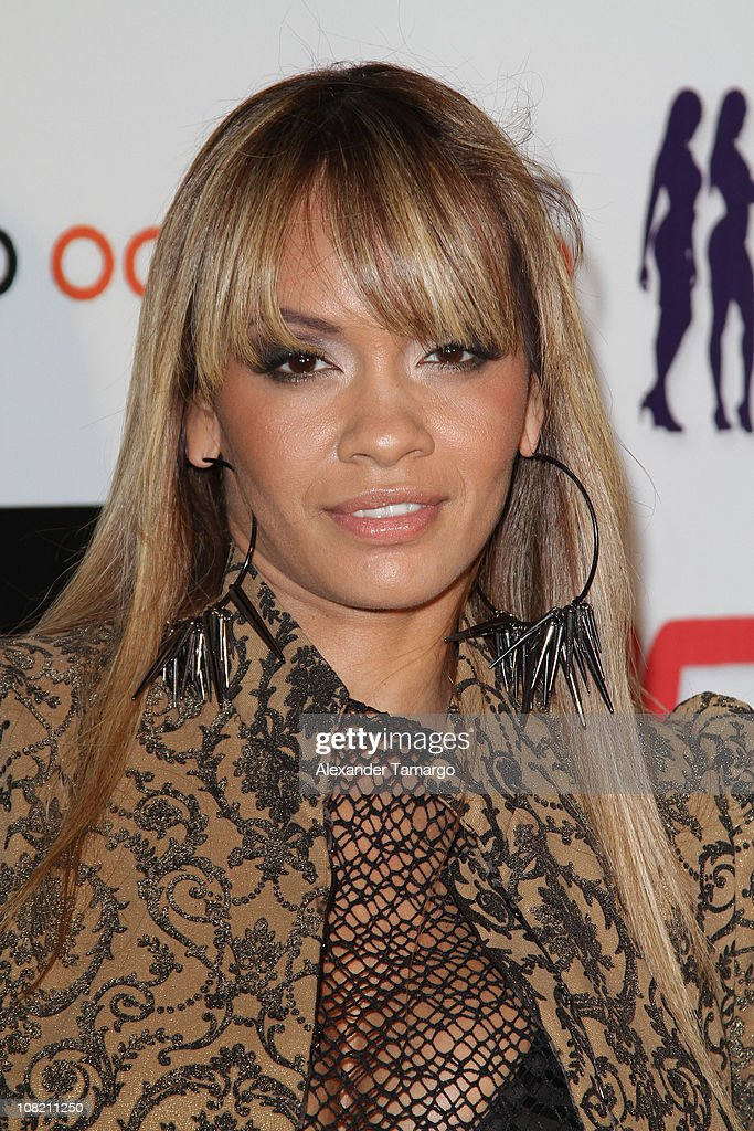 Evelyn Lozada attends Chad Ochocino's birthday party at Prime 112 on January 20, 2011 in Miami Beach, Florida.