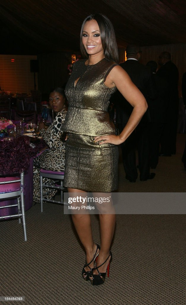 Evelyn Lozada attends the Faithful Central Bible Church Event on October 19, 2012 in Century City, California.