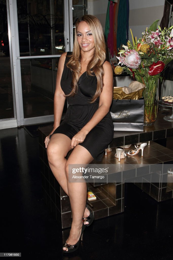 Evelyn Lozada is seen at Dulce Shoe Boutique on May 6, 2010 in Coral Gables, Florida.