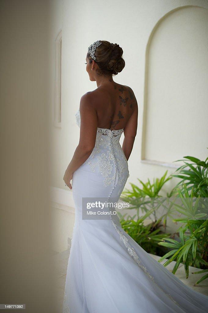 Chad Ochocinco and Evelyn Lozado Wedding Photos and Images | Getty ...