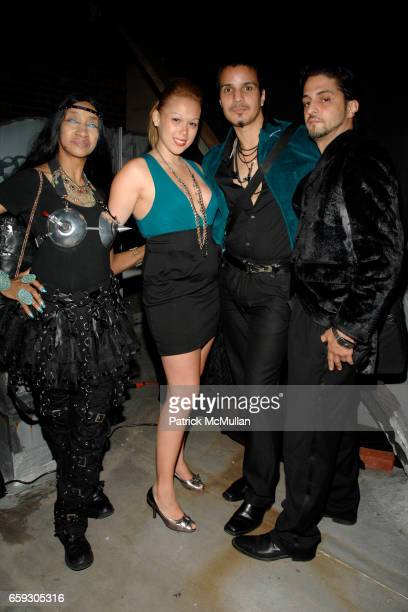 Evelyn Santos Krissy Karma Hector Xtravaganza and Juan LaPerla attend VOGUE BALL Emceed by Princess Xtravaganza at 215 Centre Street on September 25...