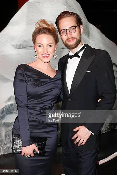 Evelyn Weigert and Tobias Freynik attend the 22nd Opera Gala at Deutsche Oper Berlin on November 7 2015 in Berlin Germany