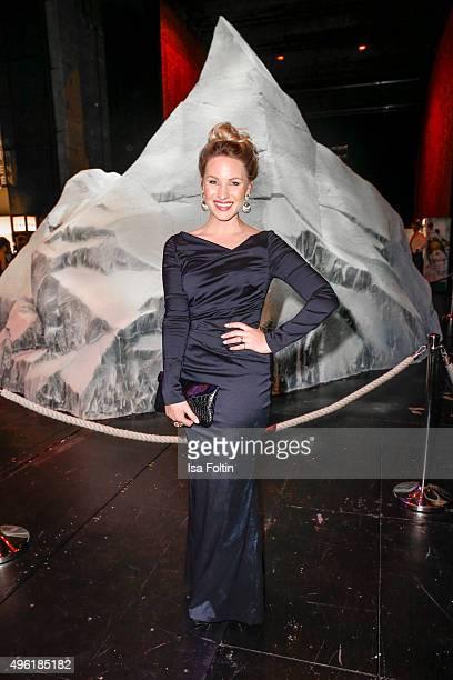 Evelyn Weigert attends the 22nd Opera Gala at Deutsche Oper Berlin on November 7 2015 in Berlin Germany