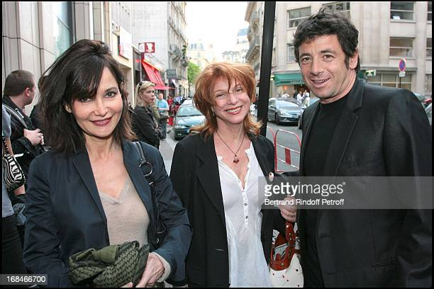 Evelyne Bouix Agathe Nathanson Patrick Bruel at Paris Premiere Of The Film Tu Peux Garder Un Secret At L' Elysee Biarritz
