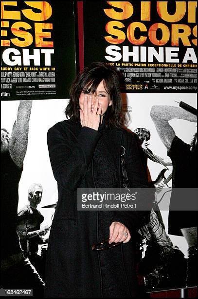Evelyne Bouix at Screening Of The Film Shine A Light By Martin Scorsese At Olympia In Paris