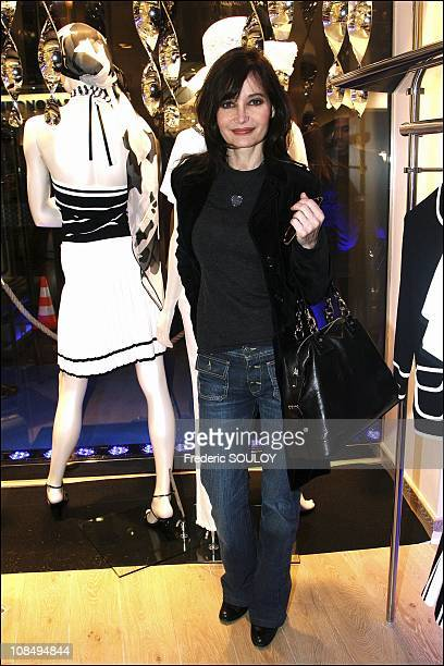 Evelyne Bouix in Paris France on March 22 2006