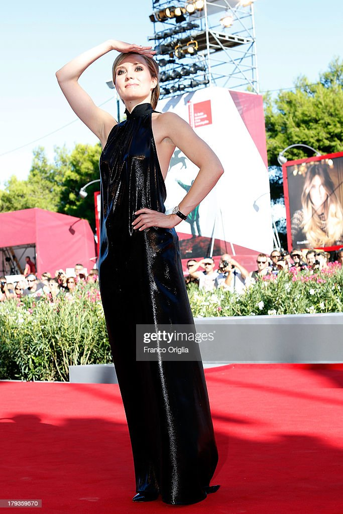 Evelyne Brochu attends the 'Tom At The Farm' Premiere during the 70th Venice International Film Festival at the Palazzo del Cinema on September 2, 2013 in Venice, Italy.