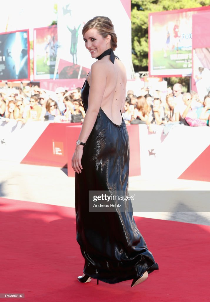 Evelyne Brochu attends 'Tom At The Farm' Premiere during the 70th Venice International Film Festival at the Palazzo del Cinema on September 2, 2013 in Venice, Italy.