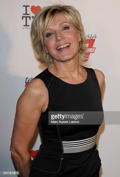 Evelyne Dheliat attends the 1st edition of 'La Fete de la Tele' at Le Showcase on June 15 2010 in Paris France