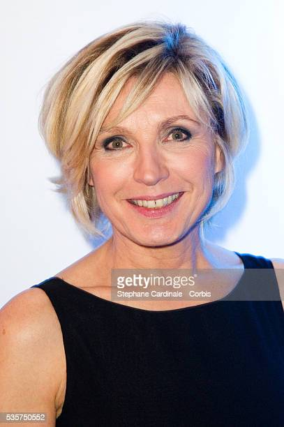 Evelyne Dheliat attends the Sidaction Gala Dinner 2012 at Pavillon d'Armenonville in Paris