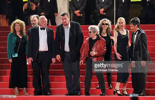 Evelyne Didi French actor JeanPierre Darroussin Blondin Miguel Director and writer Aki Kaurismaki actor Little Bob guest actress Kati Outinen and...