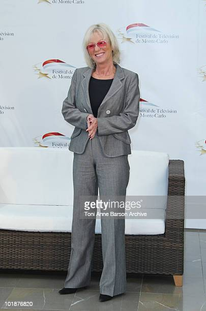 Evelyne Leclercq attends a photocall at the Grimaldi Forum on June 7 2010 in MonteCarlo Monaco