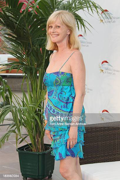 Evelyne Leclercq attends photocall at the Grimaldi Forum on June 7 2010 in MonteCarlo Monaco