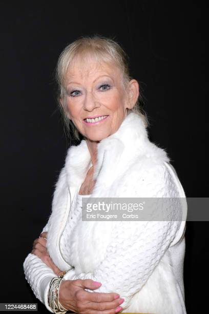 Evelyne Leclercq poses during a portrait session in Paris France on 1
