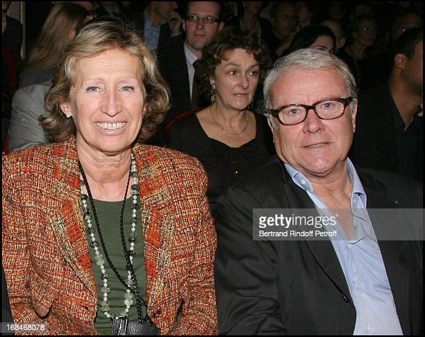 "Evelyne Richard and her husband Jean Philippe at ""Radio Classique"" Celebrates The ""Elections De L' Opera 2008"" At Theatre Mogador In Paris."