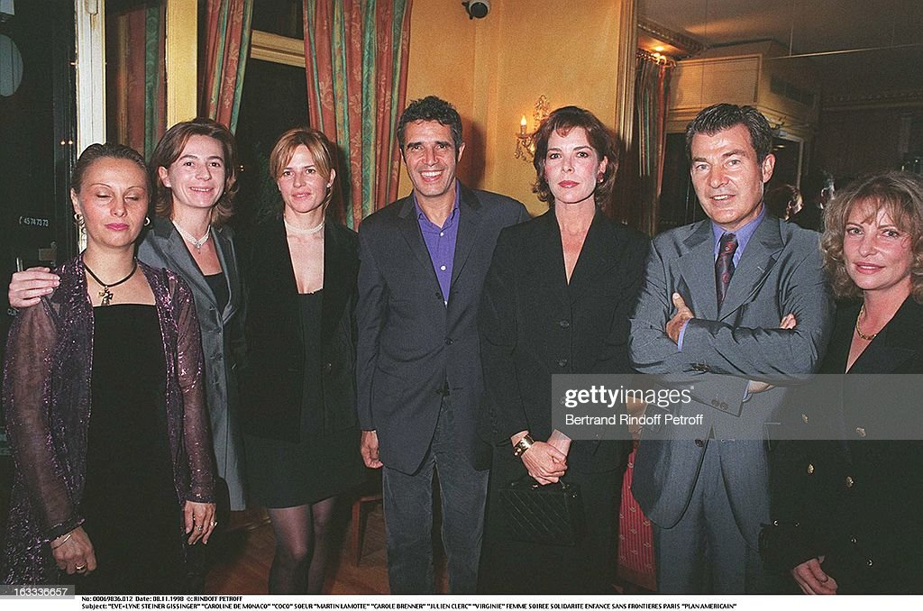 Evening Gala In Aid Of Enfance Sans Frontieres : News Photo
