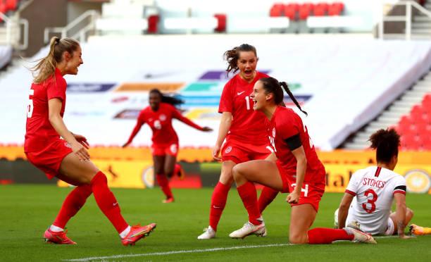GBR: England Women v Canada Women: International Match