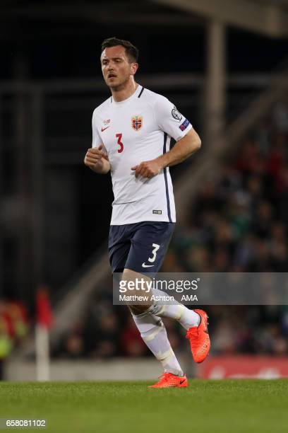 Even Hovland of Norway during the FIFA 2018 World Cup Qualifier between Northern Ireland and Norway at Windsor Park on March 26 2017 in Belfast...