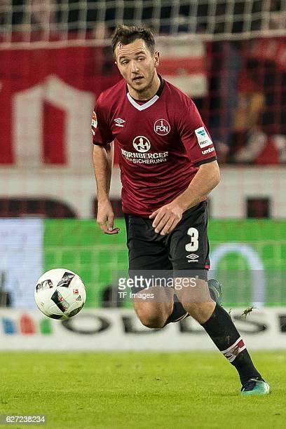 Even Hovland of Nuernberg in action during the second Bundesliga match between VfB Stuttgart and 1 FC Nuernberg at Mercedes Benz Arena on November 28...