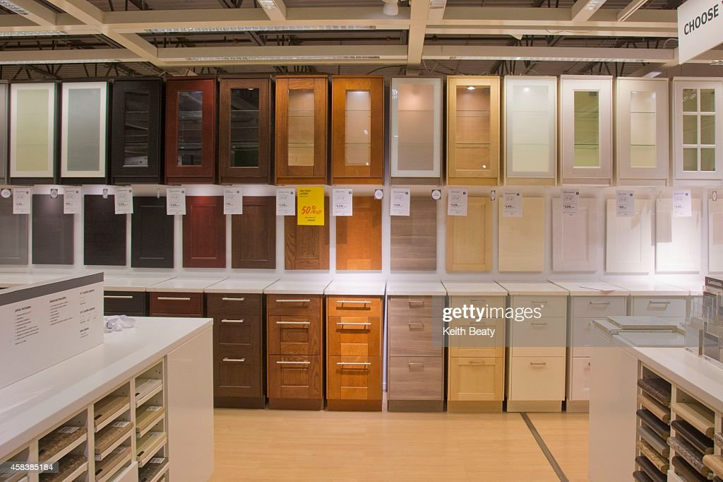 Exterior Of Ikea Canada Etobicoke Store : News Photo