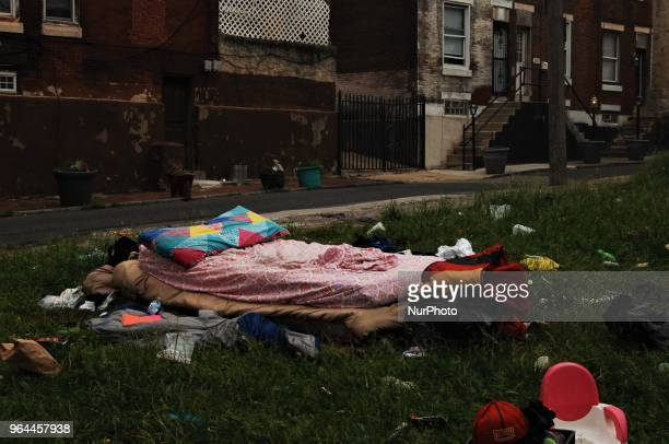 Even in at their lowest point the homeless folks who lived here tried to create some sense of normalcy and humanity in their otherwise dehumanized...