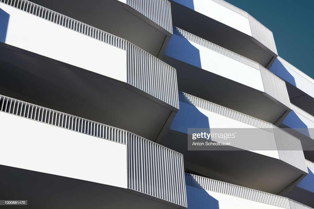 even more balconies : Stock Photo