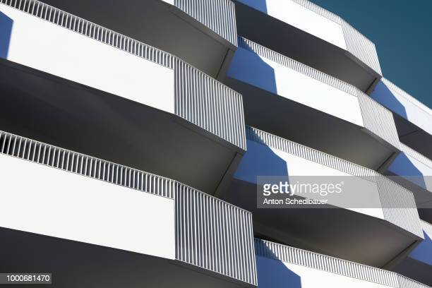 even more balconies - anton schedlbauer stock pictures, royalty-free photos & images