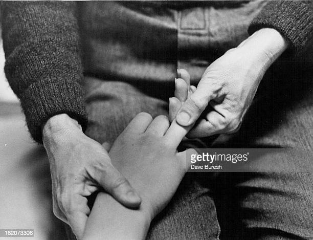 JAN 26 1979 JAN 31 1979 FEB 4 1979 Even the fingers are massaged in acupressure or Shiatsu which stimulates energy along meridians of the body