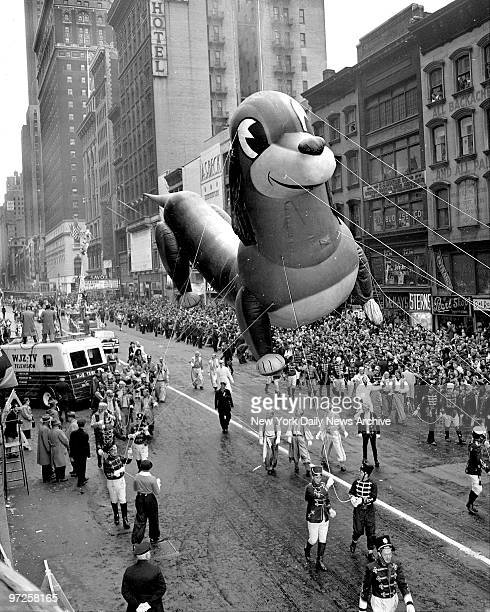 Even though he's obviously got a swelled head dachshund in Macy's Thanksgiving Day parade has holiday smile for all on 34th St But collecitons of...