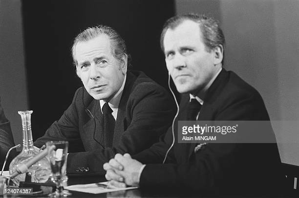 """Evenement"""" In Paris, France On October 27, 1977 - Jean Daniel, director of the news weekly magazine """"Le Nouvel Observateur""""."""