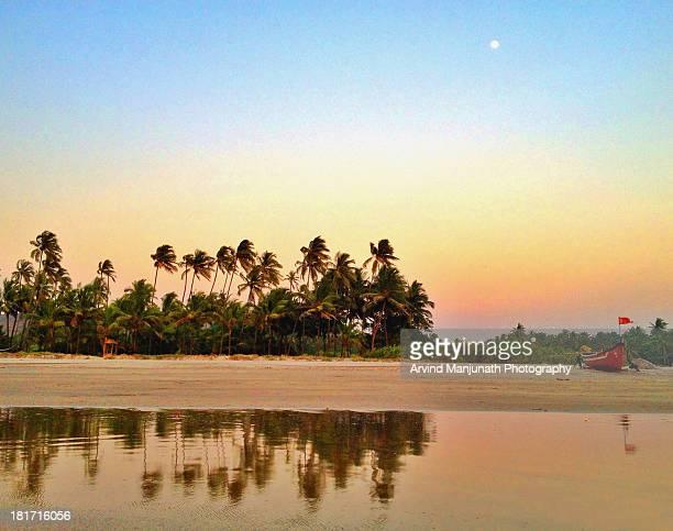 Evening at Goan beach