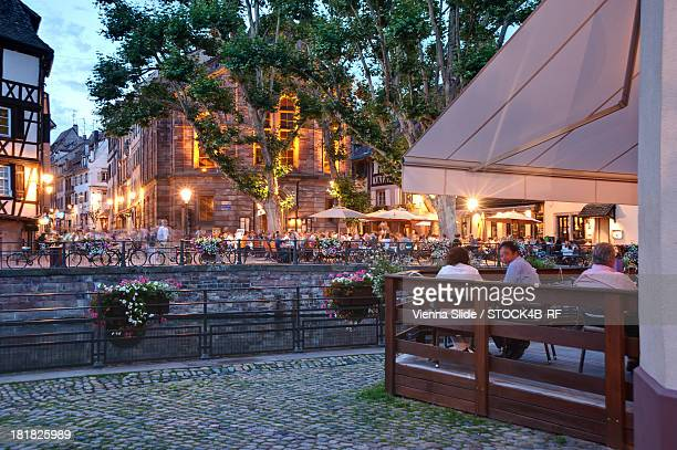 Evening at Petit-France, Strasbourg, France